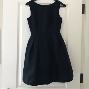 Soprano Black Bow Back Party Dress, XS